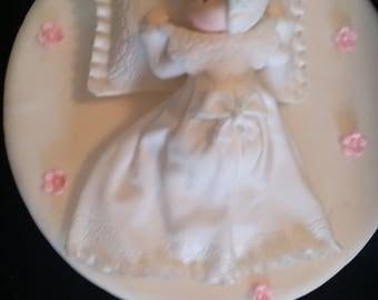 Recuerdos Para Bautizo, bautismo muchacha, blanca Rosario Cake Topper, MI Bautizo, Rosario bebé decoración, Recuerdos de Bautizo, Decoracion De Bautizo