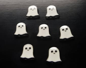 Ghost Floating Charm for Floating Lockets-Halloween Charm-Pretty Palazzo Exclusive Design-Gift Idea