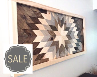 SALE* Reclaimed wood wall art, wood wall decor, wood art, modern wall decor, wooden sun burst, barn wood decor, farmhouse decor