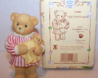 REDUCED! Cherished Teddies Club. Lela Nightingale. 1998 Membears Only. CT981. 1997.