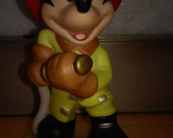 Mickey Mouse Fireman Porcelain Collectible Figurine