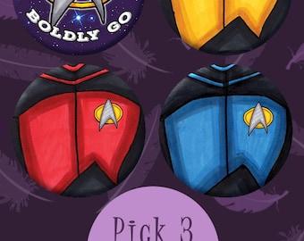 Star Trek Buttons