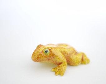 Golden Toad Ornament