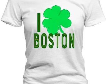 I Clover Boston St Patrick's Day Tee