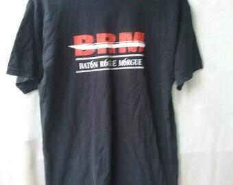 Vintage band tshirt BatonMorgue 66 Size M Medium VINTAGE TSHIRT  BRM band thsirt