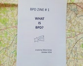 BPD Zine #1: What is BPD? A zine about Borderline Personality Disorder