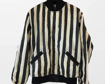 Bomber Jacket / Wind Breaker / Mid 70s Stripes