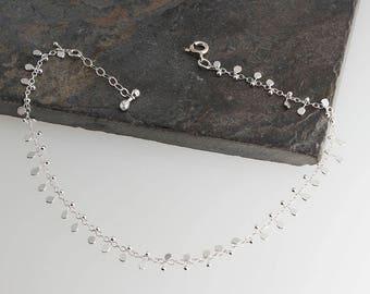 Sterling Silver Handmade Chunky Chain Bracelet Bridal Bridesmaid,Chunky chain,Minimalist Bracelet,Sterling Silver,Handmade Bracelet,Gift