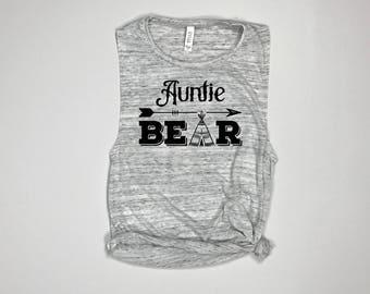 Auntie Bear, Sister Bear, Bear Family Shirts, sister birthday gift, Big Sister Shirt, Little Sister Shirt, Best Aunt Ever, Sister Shirt