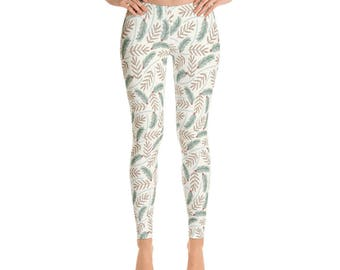 Holly Pine holiday Christmas leggings pants yoga pilates athleisure workout bold graphic sportswear