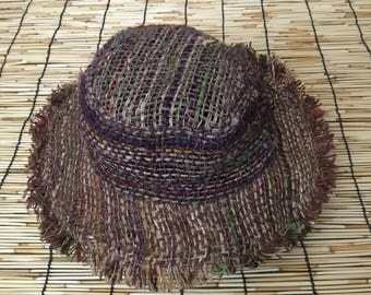 Eco Friendly Boho Pure Hemp  Sun Hat