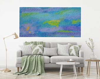 Printable Abstract Art, digital downloads painting,instant download art, Modern Large Abstract Wall Art Painting