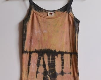 Botanical Dye Festival Cotton Vest Top - XS