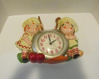 Vintage 1990 Campbells Soup Wall Clock WORKS