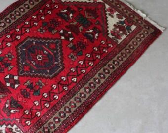 Modern Red Rug
