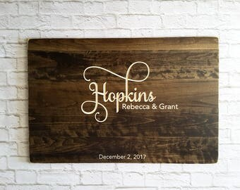 Wedding Guest Book Alternative, Unique Wedding Guestbooks, Wedding Guest book, Wood Guestbook Sign, Beautifully Engraved Wedding Guestbook