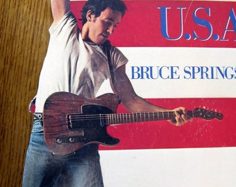 Bruce SPRINGSTEEN BORN to RUN Promotional Display !!!Rare!!!