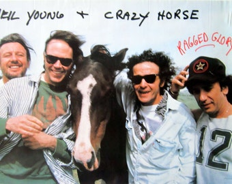 NEIL YOUNG & Crazy Horse PROMO Poster