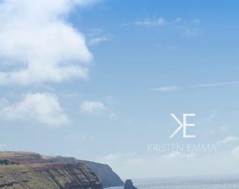 Tongariki from the Quarry | Easter Island, Chile~ Moai, statue, carving, bird man, Ahu Tongariki, Rapa Nui, Rano Raraku, Polynesia, stone