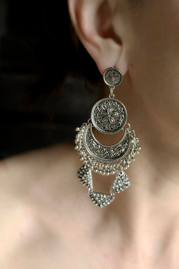 Statement Earrings - Handcrafted: Dean.