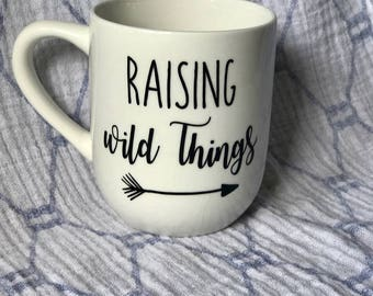 Raising Wild Things Mug