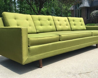 Mid Century Modern Sofa, Mid Century Sofa, Vintage Sofa, Retro Sofa, Vintage
