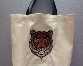 Catch A Tiger Market Tote Bag