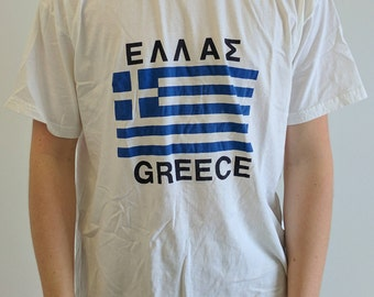 Greek Flag Shirt