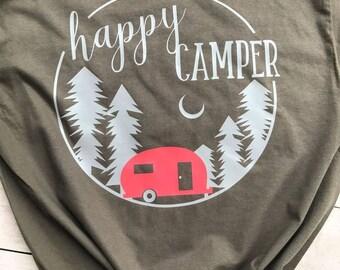 Comfort Colors // Happy Camper Shirt