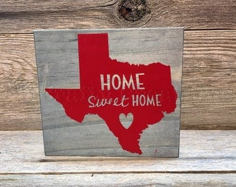 State wooden blocks, wooden blocks, state pride, home sweet home, home decor, home sweet home block, state pride decor, name your state