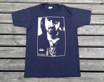 Vintage & Rare 80's U2 The Edge t-shirt Made in Canada medium