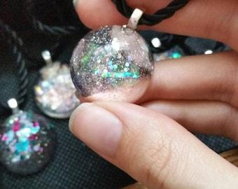 Aura Glitter Sparkle Necklace