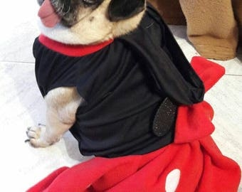 Minnie mouse dog costume, minnie mouse costume for dogs, minnie mouse costume for pets, dog minnie mause costume, dog minnie cosplay
