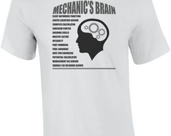Mechanic's Brain Shirt