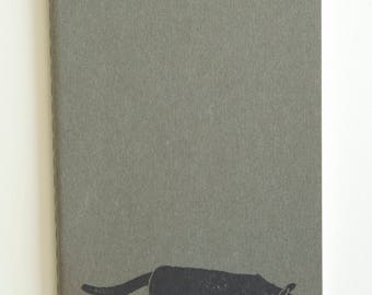 Stalking cat notebook | Journal | Sketchbook