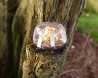 Sacred Geometry Dome Orgonite ® Tower Buster