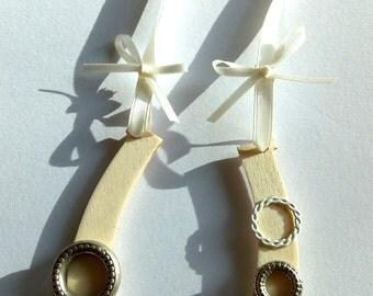 Wedding Lucky Horseshoe Steampunk Gift for Bride Keepsake