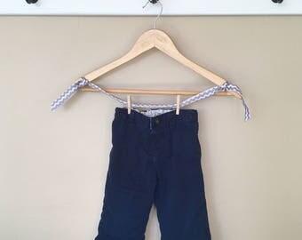 2T Knee Pad Navy Khakis