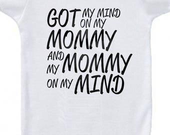 Mommy on My Mind Infant Wear