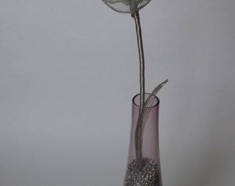 Wire Tulip in Vase