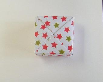Box square origami
