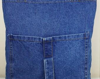 Tote Bag or Purse Teal Blue Vintage Camper Travel Trailer Pocket Market Bag Casita Purse Caravan Bag blue jeans Home. Glamping bag