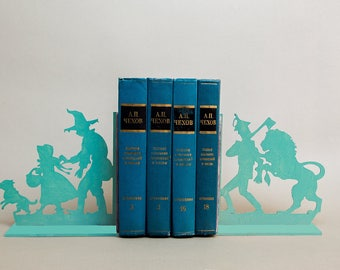 The Wonderful Wizard of Oz bookends. Nursery decor. First birthday gift. Baby present idea