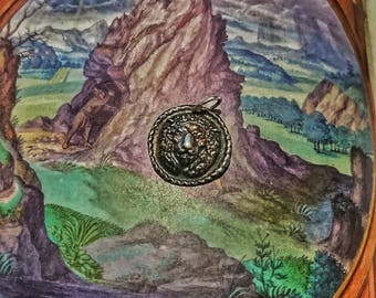 "Talisman ""Alchemical bestiary"" Lion pendant"