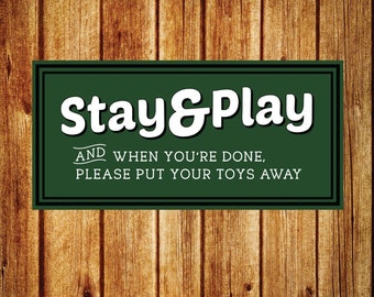 Clean Up Your Toys, Playroom Rules Sign, Playroom Wood Sign, Magnolia Market Sign, SVG, Cut File, Print, Fixer Upper Sign, Magnolia Farms