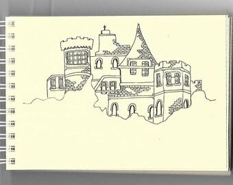 Handdrawn Castlescape (5)