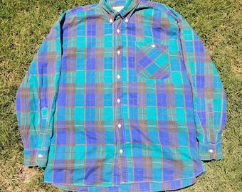 Mens Vintage 90's Flannel