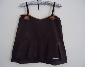 Brown Top, handmade and designed by me