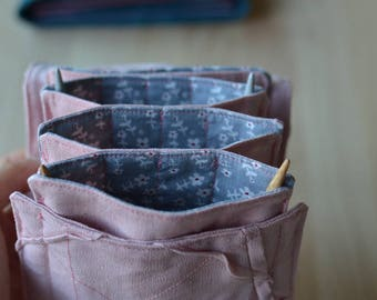 knitting needle case needle holder needle case knitting needle holder