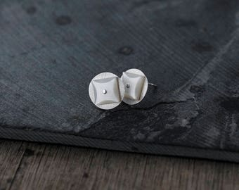 Star Studded Silver studs